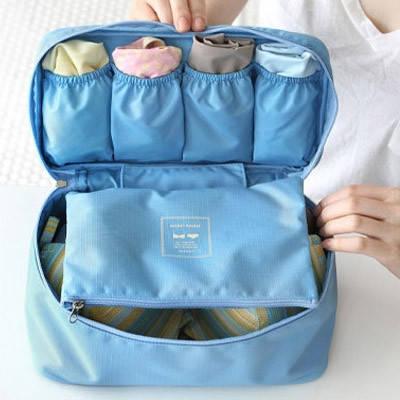 Органайзер для белья Monopoly Travel underwear pouch голубой, фото 2