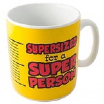 Кружка Гигант Super Person, фото 2
