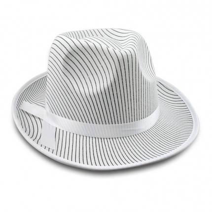 Шляпа мужская Мафия (белая), фото 2