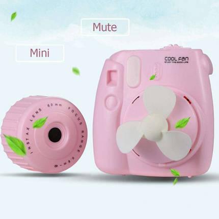 Вентилятор Фотоаппарат Pink, фото 2