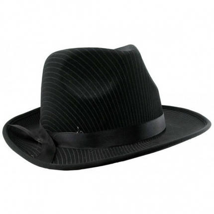 Шляпа мужская Мафия черная, фото 2