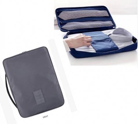 Органайзер для рубашек и блузок серый, фото 2