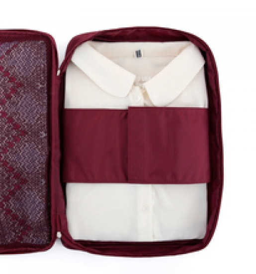 Органайзер для рубашек и блузок бордовый