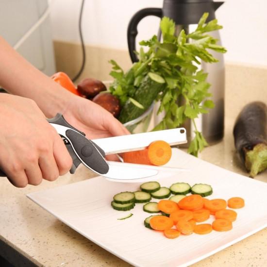 Умный нож 2 в 1 Clever Cutter