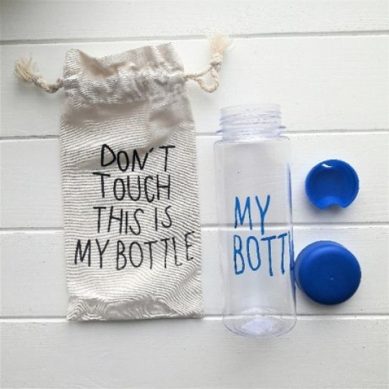 Бутылка My bottle синий