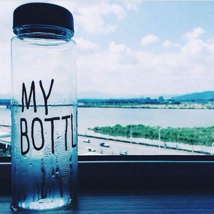 Бутылка My bottle синий, фото 2