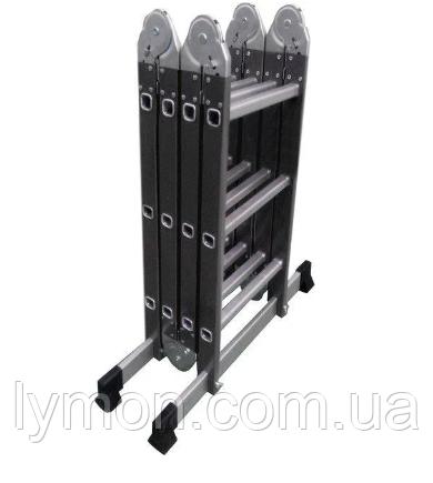 Лестница шарнирная комбинированная Werk 4х3