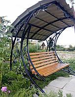 Кованая качель садовая Уют