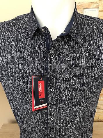 Стрейчевая рубашка короткий рукав ARMA (1419), фото 2
