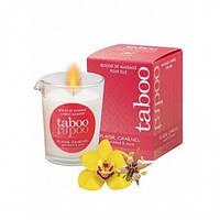 Массажная свеча для женщин TABOO Plaisir Charnel, 60 гр