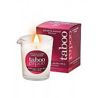 Массажная свеча для женщин TABOO Caresses Ardentes, 60 гр