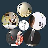 Кольцевая лампа UFT на прищепке с держателем для телефона, фото 6