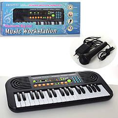 Детское пианино синтезатор HL3755USB 37 клавиш