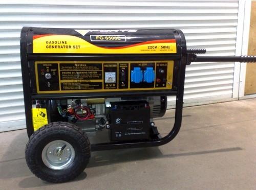 Дизельный генератор Forte FGD 6500 E
