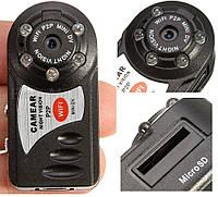 Мини камера IP Q7 640x480 Mini DV DVR  с датчиком движения и ночным видением + 32 Гб карта пямяти