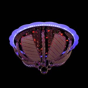"Люстра ""торт - классика"" с подсветкой на пульте управления (4 лампочки) P5-Y1256/4+22W/"
