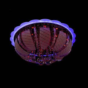 """Люстра """"торт - классика"""" с подсветкой на пульте управления (6 лампочек) P5-Y1256/6+28W/"""