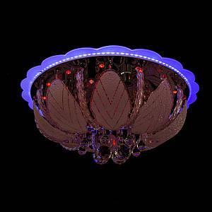 """Люстра """"торт - классика"""" с подсветкой на пульте управления (6 лампочек) P5-Y1257/6+28W/"""