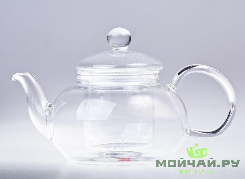 Чайник 600 мл., стекло.