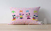 """Детская подушка с фото """"Микки Мауса 1"""""""
