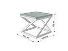 Стол журнальный Бент (серия Loft) ТМ Металл-Дизайн, фото 4