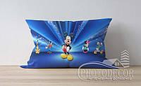 """Детская подушка с фото """"Микки Мауса 3"""""""
