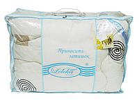 Одеяло шерстяное Зима 200x220см, овечья шерсть 100%, Leleka-Textile 1120