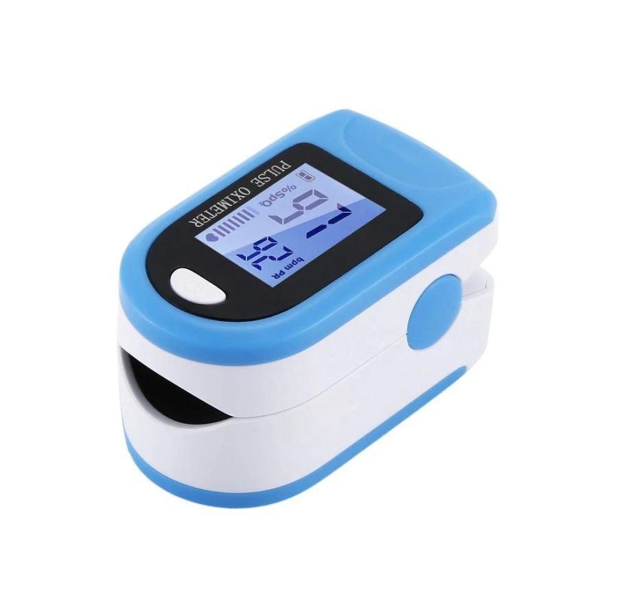 Портативный пульсоксиметр на палец для измерения сатурации кислорода и частоты пульса x1906