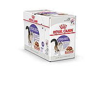 Royal Canin Sterilised в соусе 85г*12шт - паучи для стерилизованных кошек старше 1 года