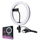 Кольцевая светодиодная лампа LED Ring Fill Light 26см, фото 2