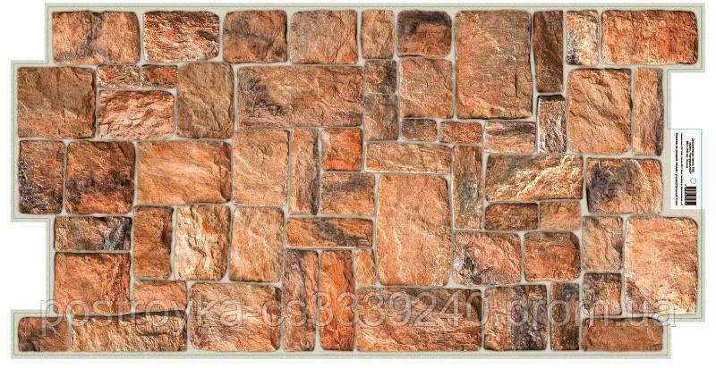 Декоративні Панелі ПВХ натуральний Камінь