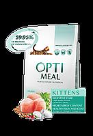 Optimeal Kittens сухой корм для котят с мясом курицы, 4 кг