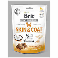 Brit Skin Care & Coat ласощі для собак кріль з кокосом 150 г