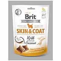 Brit Skin Care & Coat ласощі для собак кріль з кокосом 150 г * 12 шт