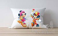 """Детская подушка с фото """"Микки Мауса 4"""""""