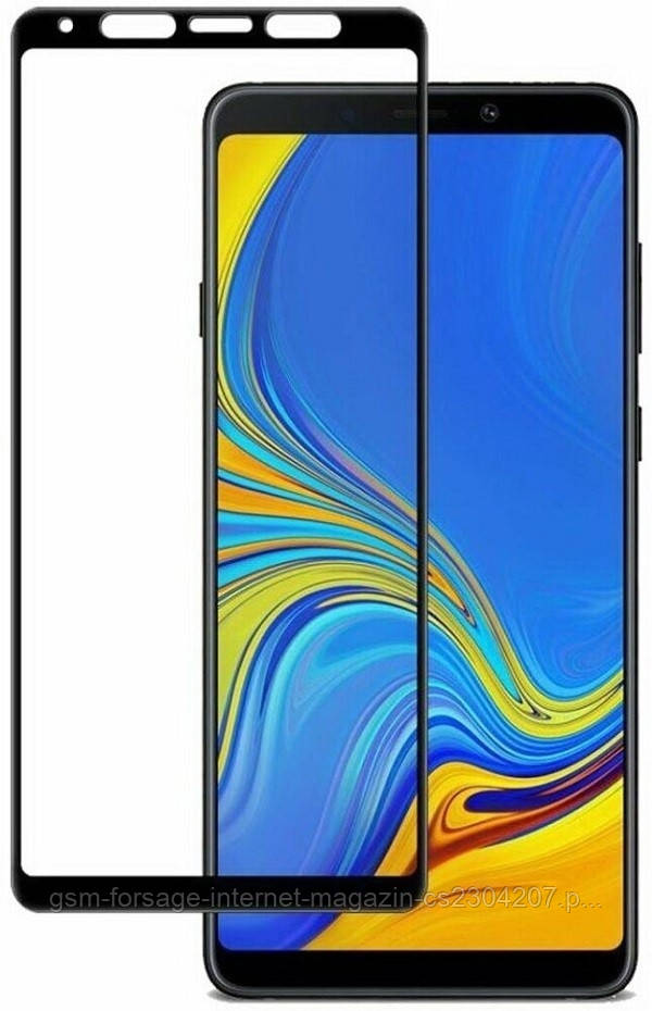 Защитное стекло (броня) для Samsung Galaxy A90 5G 2019 SM-A908 3D Black