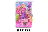 Лялька Defa 8265 Принцеса з музичними та світловими ефектами, в коробці 23*6*32 см