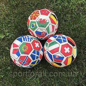 Мяч футбольный резиновый клубный  №5 2018-CV305N