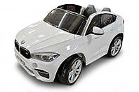 """Електромобіль """"BMW X6M"""" (з пультом, 2 сидіння, амортизатори, USB\MP312V10AH*1) JJ2168R/C-12V"""
