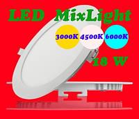 MixLight Downlight (Круглый Даунлайт) 18W glass, фото 1