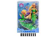 Лялька Defa Русалочка з дитиною 21011 (змінює колір волосся) в коробці 34*6*23 см