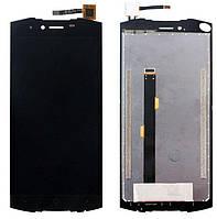 Дисплей (экран) для телефона DOOGEE S55 + Touchscreen Black
