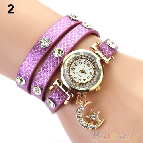 Часы женские Moon purple