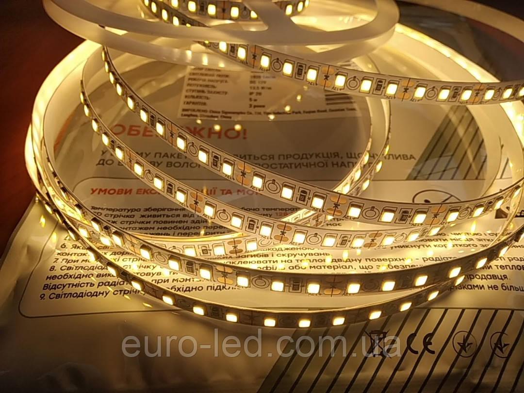 Светодиодная лента премиум   13.5 ватта теплого свечения , не герметичная, 1м