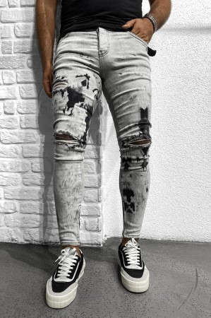 Мужские рваные джинсы (Замеры и больше фото в живую предоставляем)