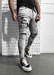 Мужские рваные джинсы (Замеры и больше фото в живую предоставляем), фото 2