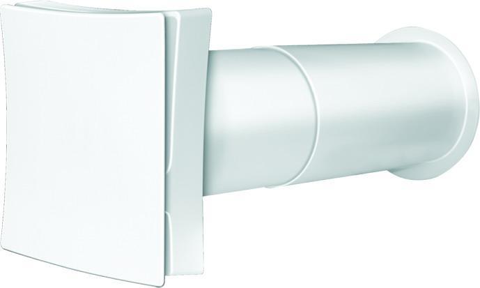 Стіновий провітрювач (припливний клапан) Вентс ПС 100