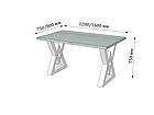 Стіл Астон (серія Loft) ТМ Метал-Дизайн, фото 4