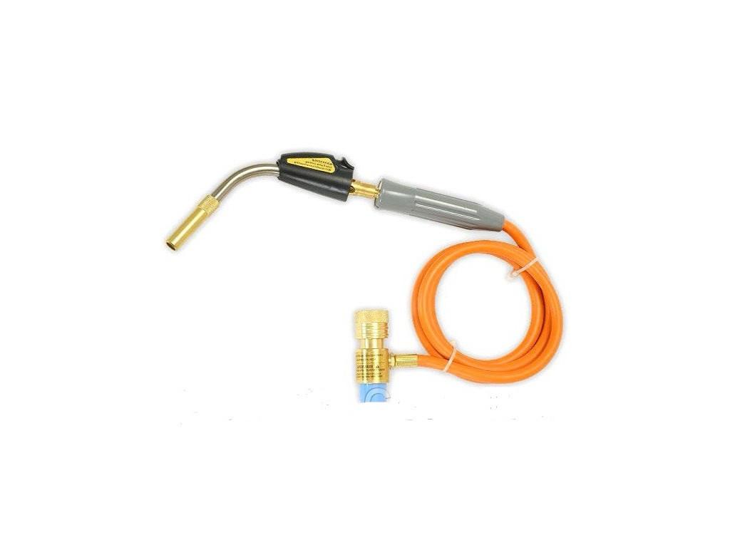 Газовая горелка для сварки RTM - 1S660 с пьезоподжигом МАПП газ