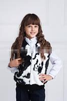 Меховая жилетка детская  004 (К.О.Н.)